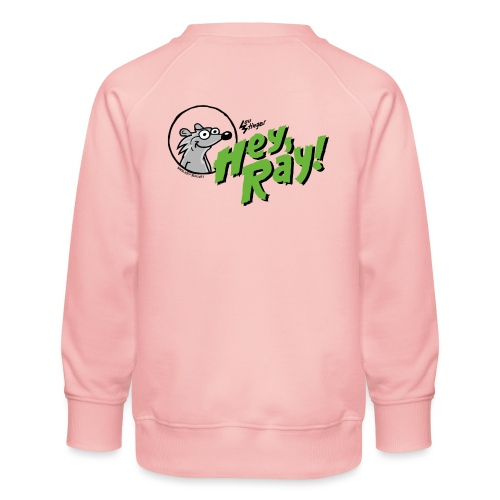 Hey Ray Logo green - Kinder Premium Pullover