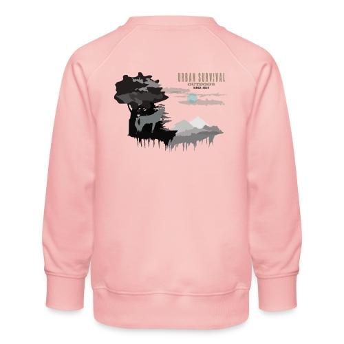 night 5black - Kinder Premium Pullover