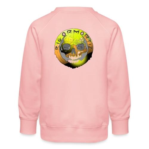 Rigormortiz Metallic Yellow Orange Design - Kids' Premium Sweatshirt