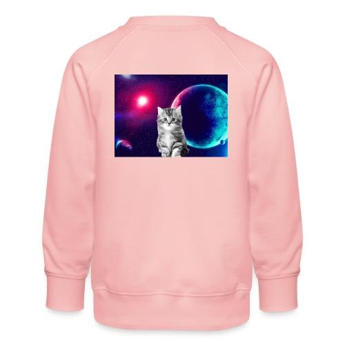 Cute cat in space - Lasten premium-collegepaita