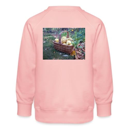 Quitten-Korb - Kinder Premium Pullover