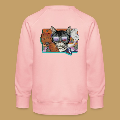 Crime Cat in Shades - Bluza dziecięca Premium