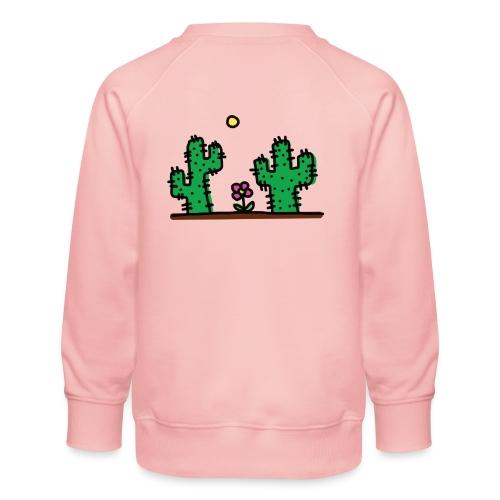 Cactus - Felpa premium da bambini