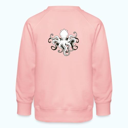 Cartoon octopus - Kids' Premium Sweatshirt