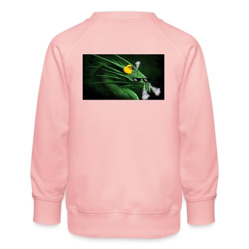 Collab With buymymerch/pizza! - Børne premium sweatshirt