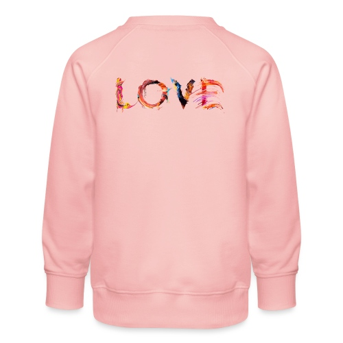 Love - Sweat ras-du-cou Premium Enfant