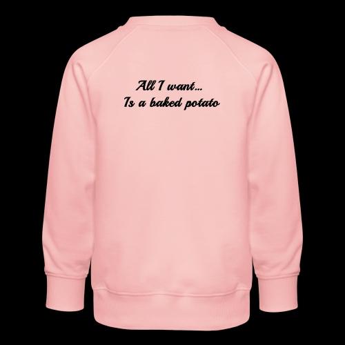 Baked potato - Kids' Premium Sweatshirt