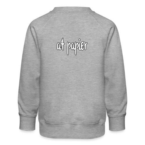A4Papier - Kinderen premium sweater