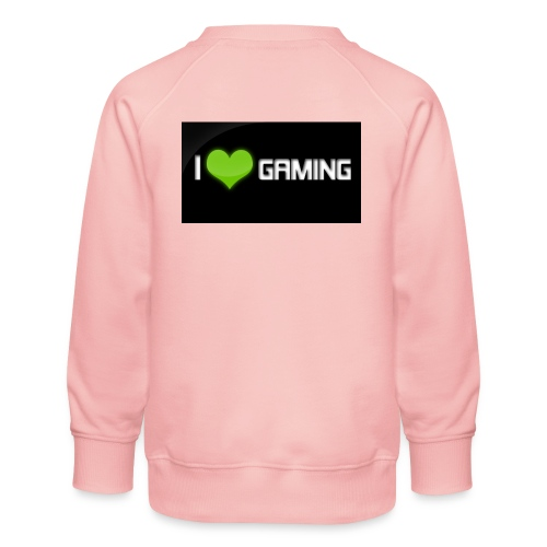 I Love Gaming Shadow Gamer - Kinder Premium Pullover
