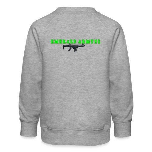 EMERALDARMYNL LETTERS! - Kinderen premium sweater