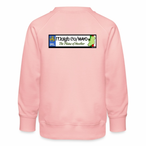 CO. MAYO, IRELAND: licence plate tag style decal - Kids' Premium Sweatshirt