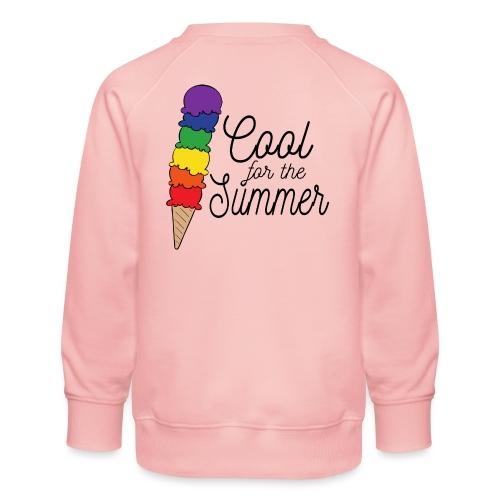 Cool für den Sommer | Eis | Regenbogen - Kinder Premium Pullover