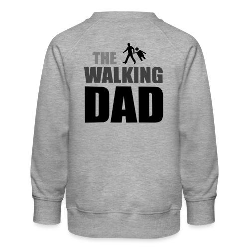 the walking dad auf dem Weg in die lustige Bar - Kinder Premium Pullover