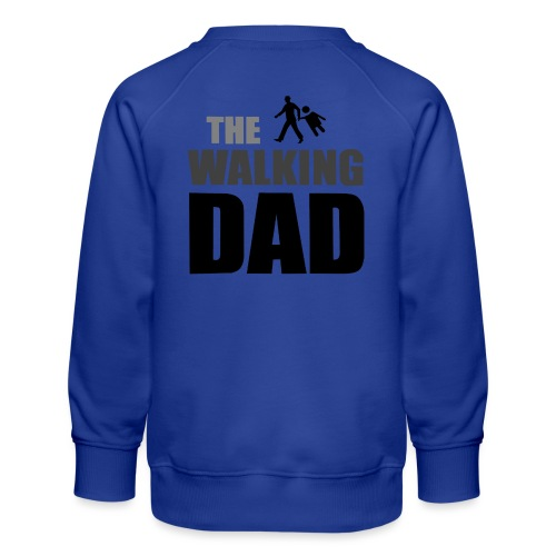 the walking dad auf dem Weg in die lustige Bar - Kinder Premium Pullover
