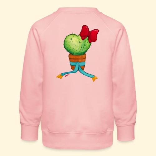 Cactus Coeur - Sweat ras-du-cou Premium Enfant