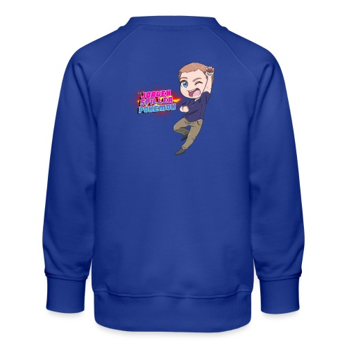 Jørgen spiller lommemonstre - Børne premium sweatshirt