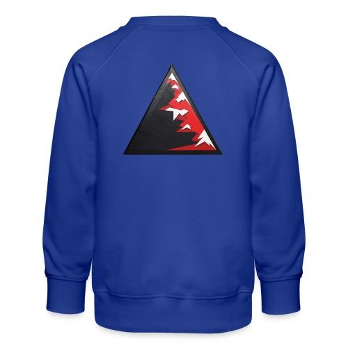 Climb high as a mountains to achieve high - Kids' Premium Sweatshirt
