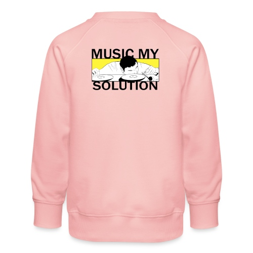 MUSIC MY SOLUTION - Sweat ras-du-cou Premium Enfant