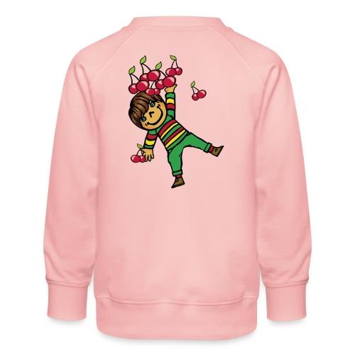 08 kinder kapuzenpullover hinten - Kinder Premium Pullover