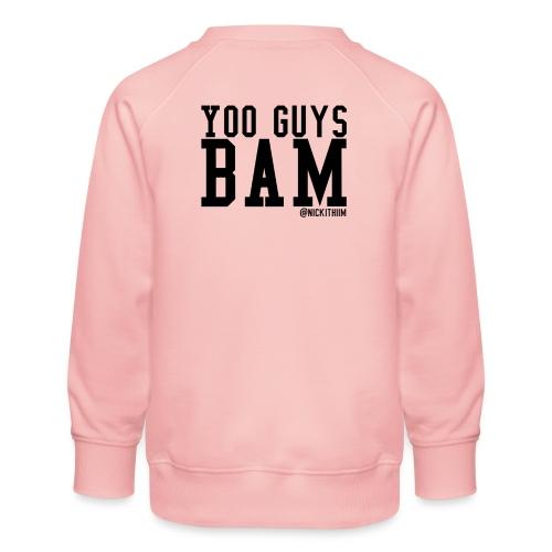 BAM! - Kinder Premium Pullover