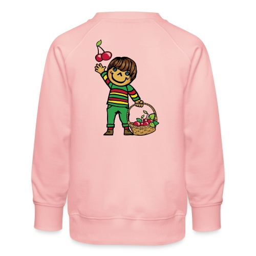 07 kinder kapuzenpullover hinten - Kinder Premium Pullover