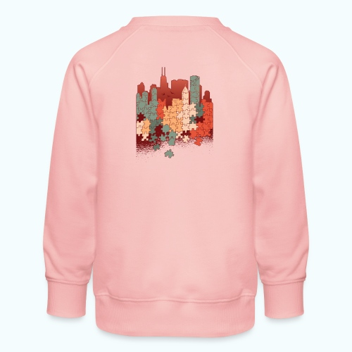 Puzzle fan - Kids' Premium Sweatshirt