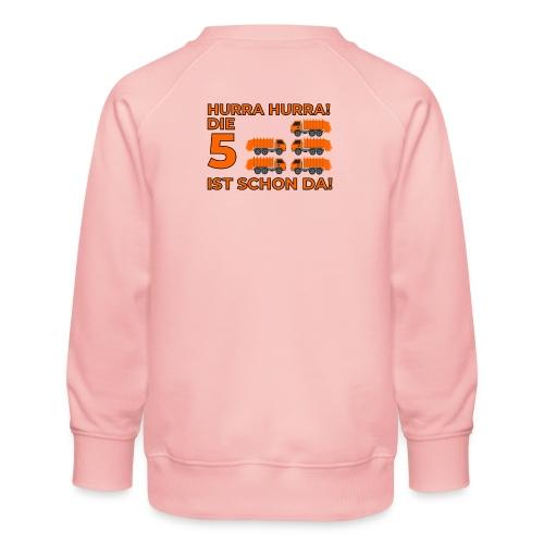 Piąte urodziny prezent dla chłopca śmieciarka - Bluza dziecięca Premium