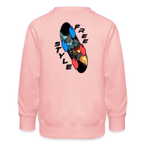 Skateboard Freestyle - Kinder Premium Pullover