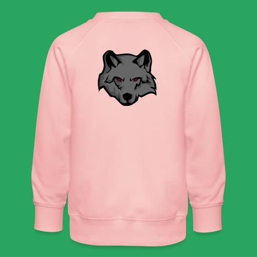 wolf logo - Felpa premium da bambini