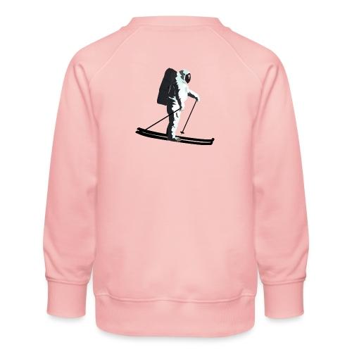 Moonlight Skiing - Kids' Premium Sweatshirt