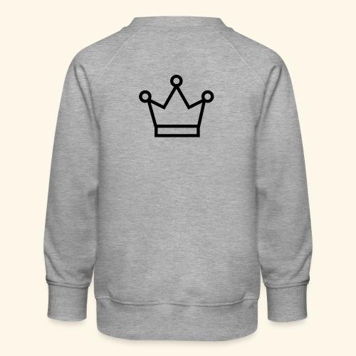 The Queen - Børne premium sweatshirt