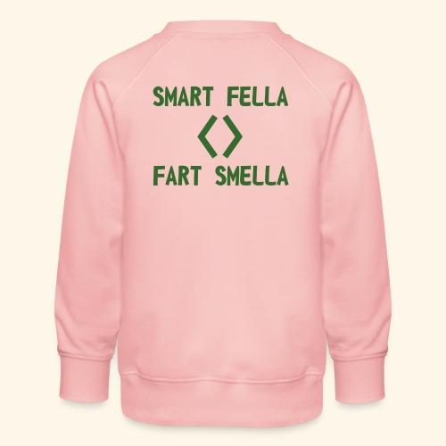 Smart fella - Felpa premium da bambini