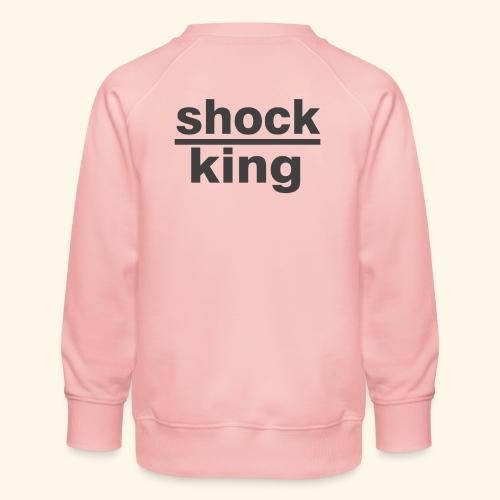 shock king funny - Felpa premium da bambini