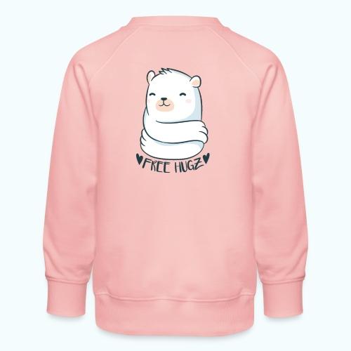Free Hugs Bear - Kids' Premium Sweatshirt