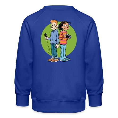 Teenager Premium Langarmshirt Reporter - Kinder Premium Pullover
