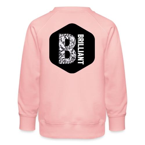 B brilliant black - Kinderen premium sweater