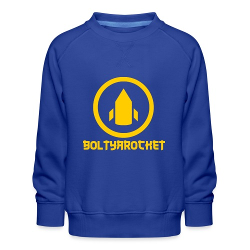 Bolt Ya Rocket - Kids' Premium Sweatshirt