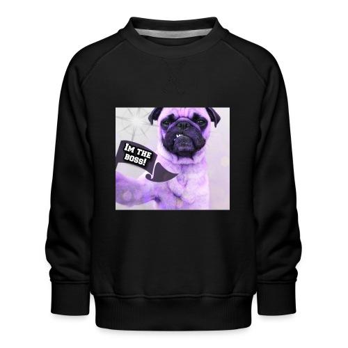 I'm the boss - Børne premium sweatshirt