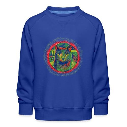 CAT ART AMERA - Kinder Premium Pullover