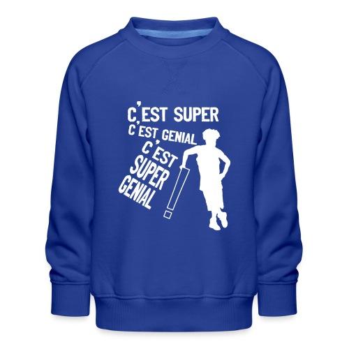 131443965 162265155645560 2034409992438513481 n - Sweat ras-du-cou Premium Enfant