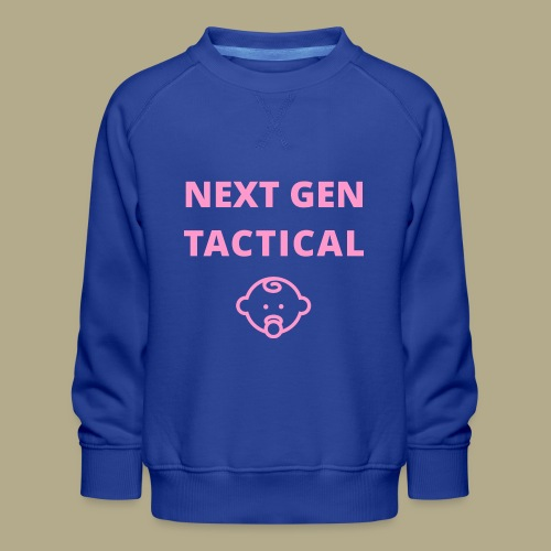 Tactical Baby Girl - Kinderen premium sweater