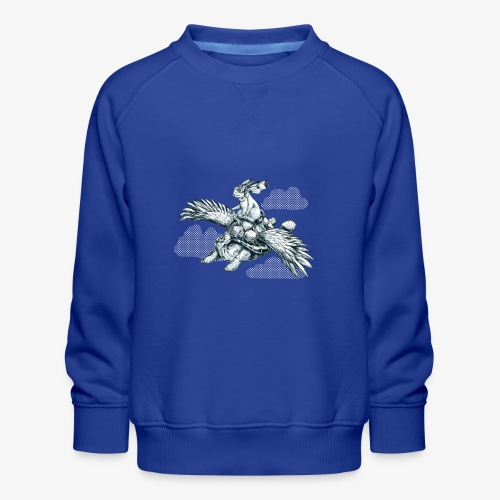 Flying Tortoise - Kids' Premium Sweatshirt