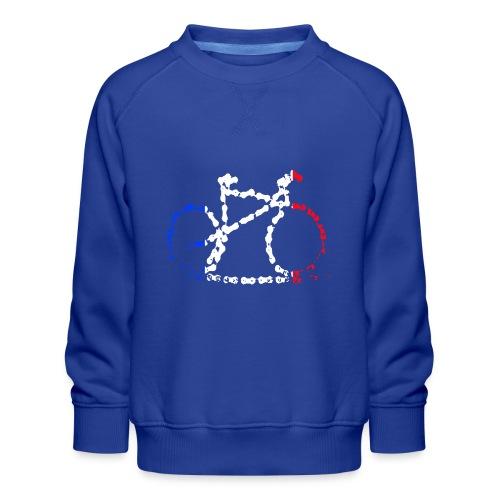 French bike chain - Kids' Premium Sweatshirt
