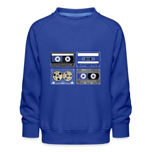 4 cassettes - Kids' Premium Sweatshirt