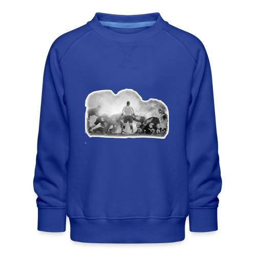 Rugby Scrum - Kids' Premium Sweatshirt