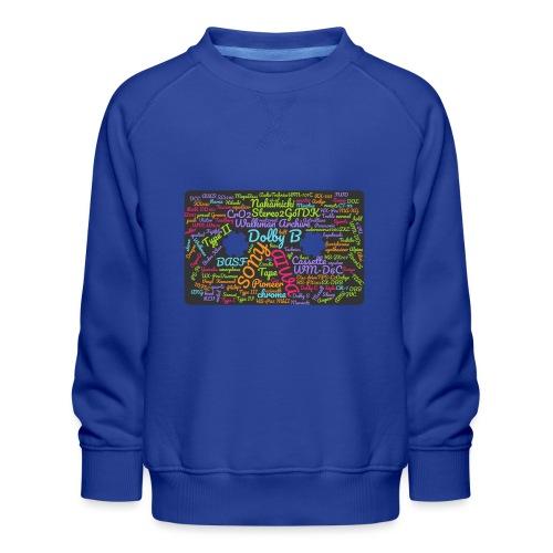 wordcloud Cassettes- WA - Kids' Premium Sweatshirt