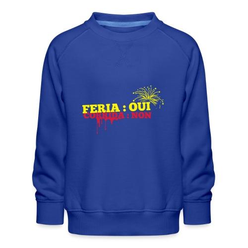 feria - Sweat ras-du-cou Premium Enfant