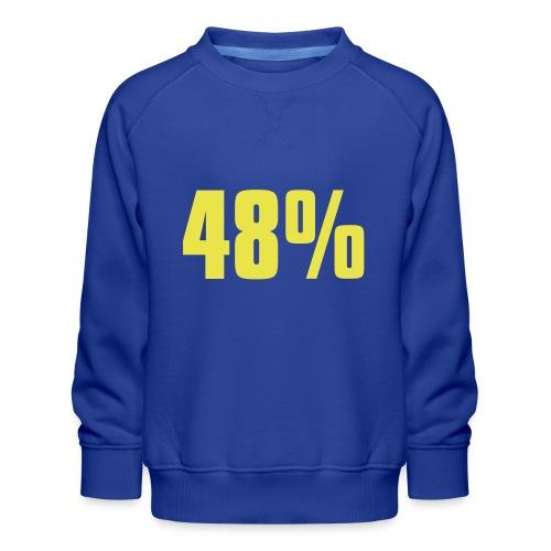 48% - Kids' Premium Sweatshirt