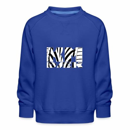 KM_white - Børne premium sweatshirt