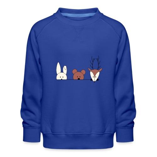 Kuckuck, wer ist da? - Kinder Premium Pullover